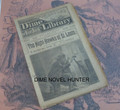 BEADLE'S NEW YORK DIME LIBRARY #942 DIME NOVEL STORY PAPER
