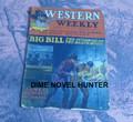 WESTERN WEEKLY #34 BLACK HILLS  ARTHUR WESTBROOK 5 CENT DIME NOVEL