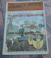 1902 JAMES BOYS WEEKLY #71 FRANK TOUSEY D. W. STEVENS DIME NOVEL STORY PAPER