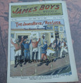 1902 JAMES BOYS WEEKLY # 124 FRANK TOUSEY D. W. STEVENS DIME NOVEL STORY PAPER