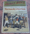 1902 JAMES BOYS WEEKLY #102 FRANK TOUSEY D. W. STEVENS DIME NOVEL STORY PAPER