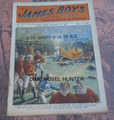 1901 JAMES BOYS WEEKLY #57 FRANK TOUSEY D. W. STEVENS DIME NOVEL STORY PAPER