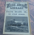 WIDE AWAKE LIBRARY #525 FRANK READE SCI FI LUIS P SENARENS NO NAME DIME NOVEL