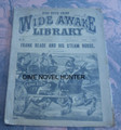 WIDE AWAKE LIBRARY #553 FRANK READE SCI FI LUIS P SENARENS NO NAME DIME NOVEL