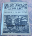WIDE AWAKE LIBRARY #541 FRANK READE SCI FI LUIS P SENARENS NO NAME DIME NOVEL