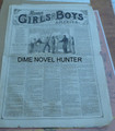 1876 MUNRO'S GIRLS & BOYS OF AMERICA #126 SCARCE STORY PAPER DIME NOVEL