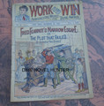WORK AND WIN #04 SCARCE FRED FEARNOT FRANK TOUSEY DIME NOVEL