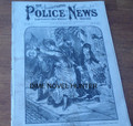 ILLUSTRATED POLICE NEWS #1177  BASEBALL SEVERAL SKETCHES YELLOW JOURNALISM