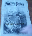 1873 ILLUSTRATED POLICE NEWS #420 DECAPITATION, GHOSTS, MURDER AND MAYHEM YELLOW JOURNALISM DIME NOVEL STORY PAPER