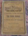1861 BEADLE'S DIME NOVEL #25 STORY PAPER DIME NOVEL