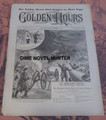 1893 GOLDEN HOURS #296 SHIP WRECKED NORMAN L MUNRO STORY PAPER