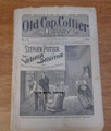 1898 OLD CAP COLLIER #738 DETECTIVE DIME NOVEL STORY PAPER