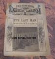 1884 NEW YORK DETECTIVE LIBRARY #103 THE LAST MAN DIME NOVEL