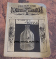1885 NEW YORK DETECTIVE LIBRARY #138 FOUND IN A BOTTLE  DIME NOVEL