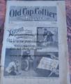 1893 OLD CAP COLLIER #511 LEAGUE OF DEATH OLD IRONNERVE DIME NOVEL STORY PAPER