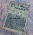 1885 FIVE CENT WIDE AWAKE LIBRARY #17 MARLINE MANLY DIME NOVEL