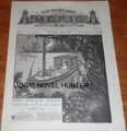 1888 YOUNG MEN OF AMERICA #552 STEAM RAFT STORY PAPER DIME NOVEL