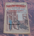 FAME AND FORTUNE #587 WALL STREET STORIES OF ADVENTURE DIME NOVEL