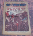 FAME AND FORTUNE #548 WALL STREET STORIES OF ADVENTURE DIME NOVEL