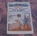 FAME AND FORTUNE #547 WALL STREET STORIES OF ADVENTURE DIME NOVEL