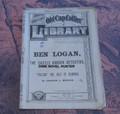 1885 OLD CAP COLLIER LIBRARY #140 BEN LOGAN DIME NOVEL