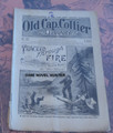 1894 OLD CAP COLLIER #567 GIDEON GAULT IN IRELAND DIME NOVEL STORY PAPER