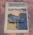 RED, WHITE & BLUE WEEKLY #31 BEVERLY KENNON SECRET SERVICE CIVIL WAR DIME NOVEL