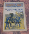 RED, WHITE & BLUE WEEKLY #40 BEVERLY KENNON SECRET SERVICE CIVIL WAR DIME NOVEL