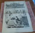 1874 FOX ILLUSTRATED WEEKS DOINGS #50 RICHARD K FOX MURDER, MAYHEM STORY PAPER