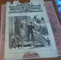 1874 FOX ILLUSTRATED WEEKS DOINGS #64 RICHARD K FOX MURDER, MAYHEM STORY PAPER