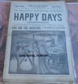 1924 HAPPY DAYS #1544 OLD KING BRADY FRANK TOUSEY STORY DIME NOVEL STORY PAPER