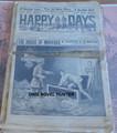 1914 HAPPY DAYS #1034 OLD KING BRADY FRANK TOUSEY STORY DIME NOVEL STORY PAPER