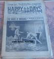 1914 HAPPY DAYS #1034 OLD KING BRADY FRANK TOUSEY STORY DIME NOVEL STORY PAPER BETTER