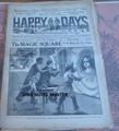 1918 HAPPY DAYS #1257 OLD KING BRADY FRANK TOUSEY STORY DIME NOVEL STORY PAPER
