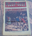 PLUCK AND LUCK #1196 KIT CARSON FRANK TOUSEY DIME NOVEL STORY PAPER