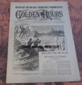 1903 GOLDEN HOURS #788 CIVIL WAR SHENANDOAH NORMAN MUNRO DIME NOVEL STORYPAPER