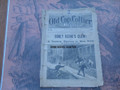 """1895 OLD CAP COLLIER #468 """"CURLY KEENE'S CLEW"""" STORY DIME NOVEL"""