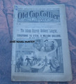 """1895 OLD CAP COLLIER #466 """"ADAMS EXPRESS ROBBERS' LEAGUE"""" STORY DIME NOVEL"""