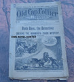 """1892 OLD CAP COLLIER #448 """"DASH DAR, THE DETECTIVE"""" STORY DIME NOVEL"""