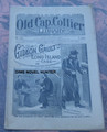 """1897 OLD CAP COLLIER #725 """"CHASED ACROSS THE SEA"""" STORY DIME NOVEL"""