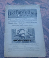 "1899 OLD CAP COLLIER #803 ""BONES'BOY BOLIVAR'S PUNISHMENT"" STORY DIME NOVEL"