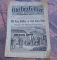 1892 OLD CAP COLLIER #426 SALT LAKE CITY MORMON DIME NOVEL STORY PAPER