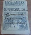 1901 RARE STREET & SMITH'S BOYS OF AMERICA #1 WALL STREET DIME NOVEL STORY PAPER