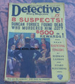 DETECTIVE STORY MAGAZINE $500 CONTEST HERMAN LANDON STORY  AUGUST 17 1929 PULP SEE VIDEO DESCRIPTION & TITLE PAGE