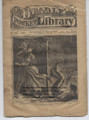 BEADLE'S POCKET LIBRARY #147 EDWARD WHEELER DIME NOVEL