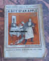 MAGNET DETECTIVE LIBRARY #105 A BITE OF AN APPLE NICK CARTER DIME NOVEL STORY PAPER