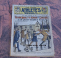 YOUNG ATHLETE'S WEEKLY #4 FRANK TOUSEY SPORT CURLING DIME NOVEL