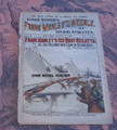 FRANK MANLEY'S WEEKLY #19 FRANK TOUSEY ICE BOAT DIME NOVEL