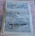 1914 HAPPY DAYS #1035 BASEBALL STORY FRANK TOUSEY DIME NOVEL STORY PAPER