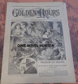 1899 GOLDEN HOURS #612 TRACKED TO DEATH NORMAN MUNRO DIME NOVEL STORYPAPER